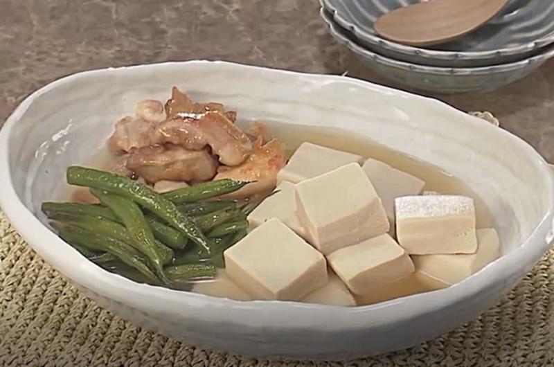 高野豆腐と鶏肉の煮もの(田口成子)