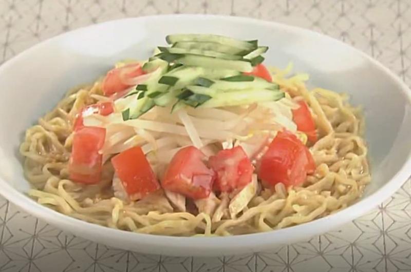 ごま風味の冷麺(石川智之)