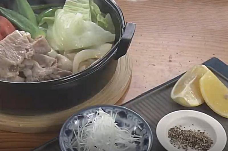 夏野菜のしゃぶすき(香り楽しむ夏おかず:上野直哉)