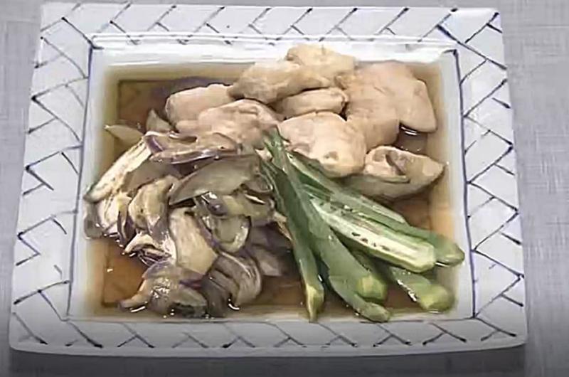 ヒラヒラなすとささ身の夏うま煮(体にやさしい なすレシピ:小田真規子)