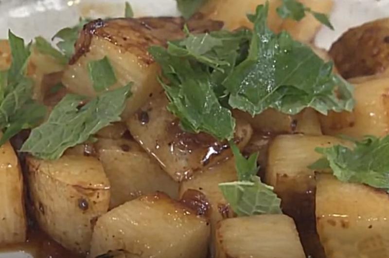 長芋の皮ごとサイコロステーキ(フードロスほぼゼロレシピ:コウケンテツ)