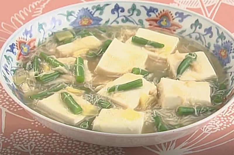 豆腐とインゲンの煮込み(石川智之)