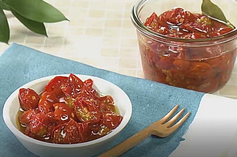 ソフトドライトマト(夏野菜レシピ)