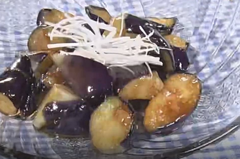 ナスのピリ辛バルサミコ風味(秋なす!炒める派:水島弘史)