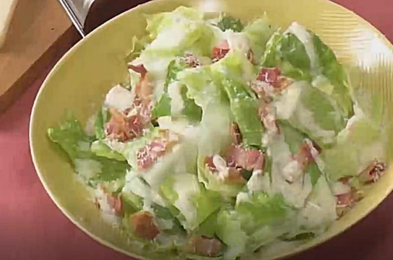 シーザーサラダ(お店の味をおうちで楽しく⑥ たっぷり食べたい野菜おかずサラダ)