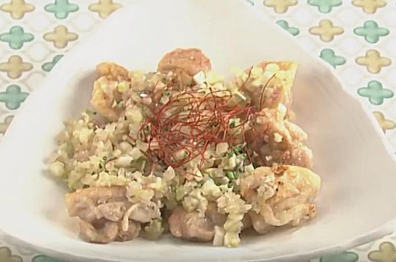 パリパリ鶏の香味だれ(岡本健二)