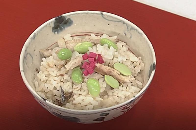 さんまの炊き込みご飯(大原千鶴の小粋な季節の食卓)