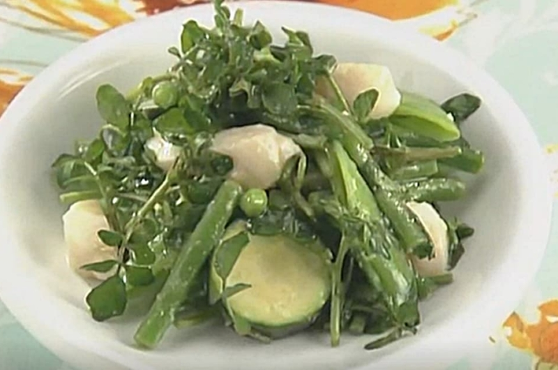 緑野菜のさわやかドレッシング(小池浩司)