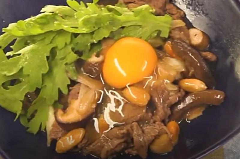 シイタケのすき焼き風炒め(鈴木浩治)