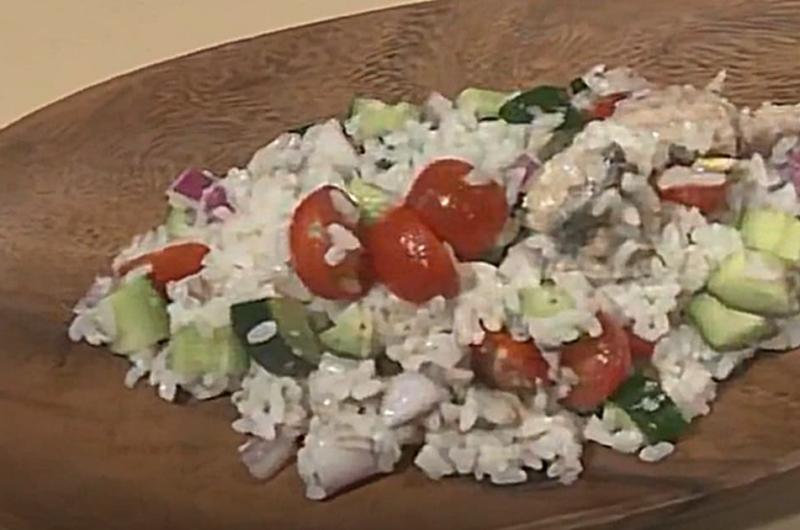 お米のサラダ(タサン志麻)