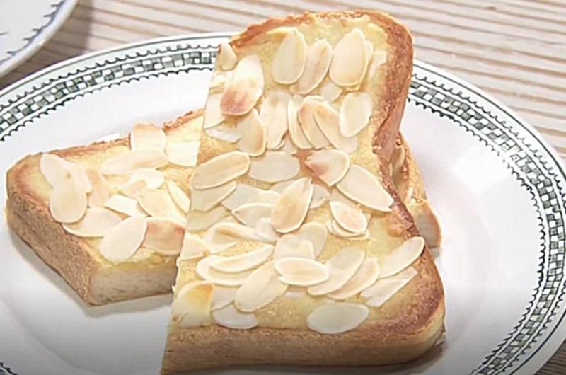 アーモンドクリームトースト(いちおしスイーツ:藤野貴子)