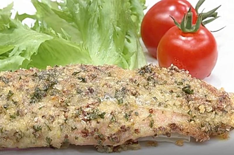 トースターで簡単!鮭のパン粉焼き(検索きょうのおしゃレシピ)
