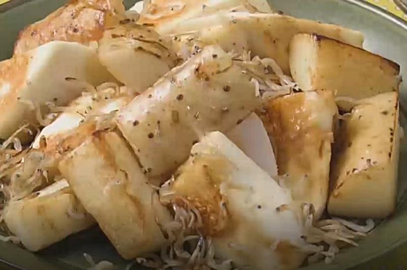 長芋とじゃこのバターじょうゆ炒め(いまどき秋レシピ② ほっくり&シャッキリ!長芋)