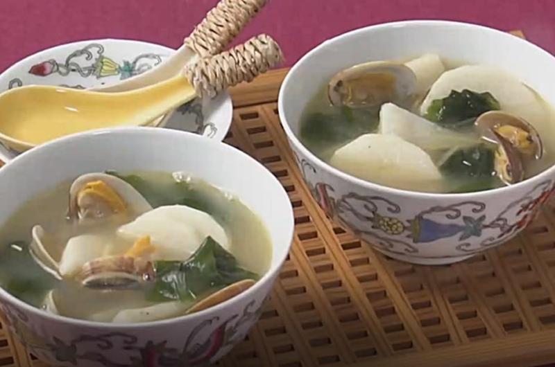 長芋の中華風スープ(いまどき秋レシピ② ほっくり&シャッキリ!長芋)