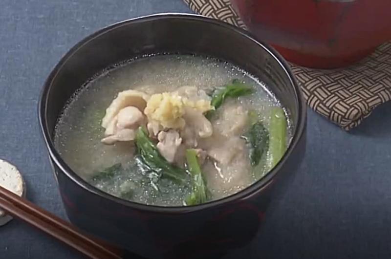 れんこんのすりおろし汁(いまどき秋レシピ③ 形と食感をいかすれんこん)