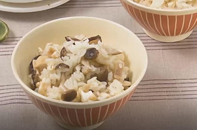 きのこの炊き込みご飯(いまどき秋レシピ④ 炊き込みご飯で楽しむきのこ)
