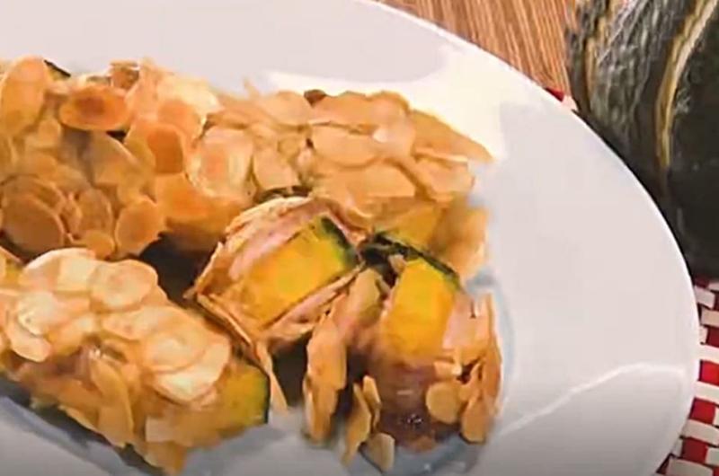 カボチャのパリパリフライ(秋の味覚「カボチャ」VS「サツマイモ」:長田知恵)